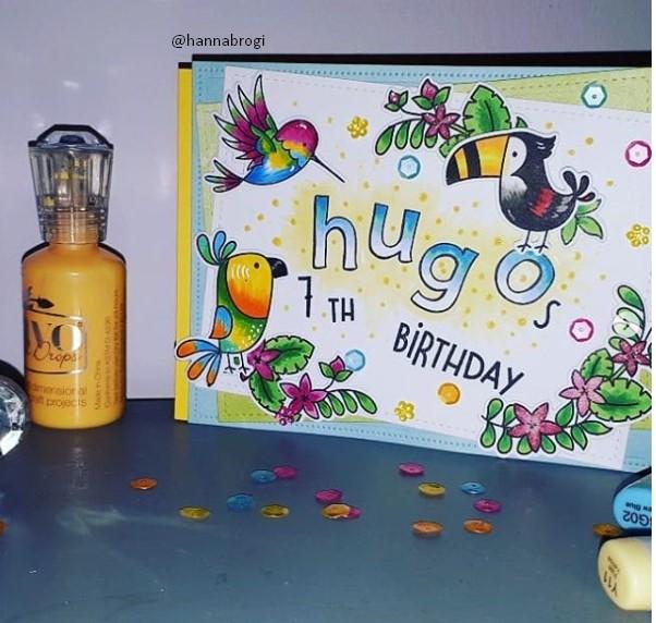 birdie Birthday card ideas for kids