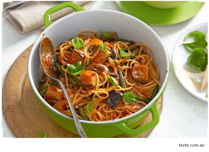 Gluten-free veggie spaghetti