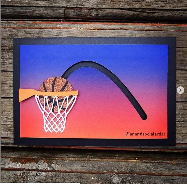 Basketball themed Birthday Card Ideas for boys