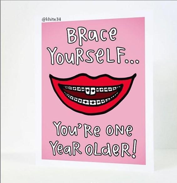 Funny Birthday Card Ideas for girls