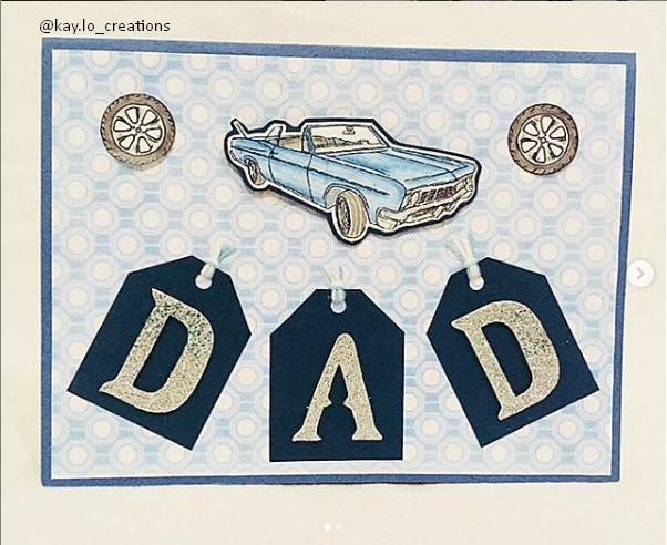 car themed birthday card ideas for dad