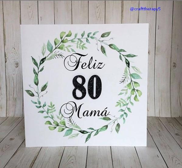 Spanish birthday card ideas for mom