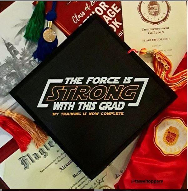 Star Wars Graduation Cap Ideas