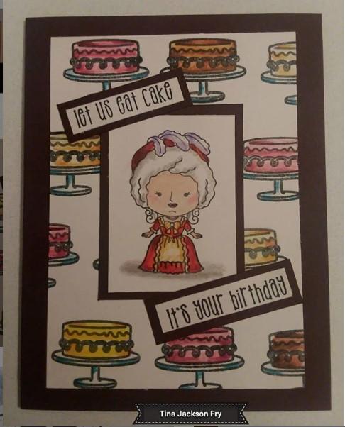 Cake themed Cute Birthday Card Ideas