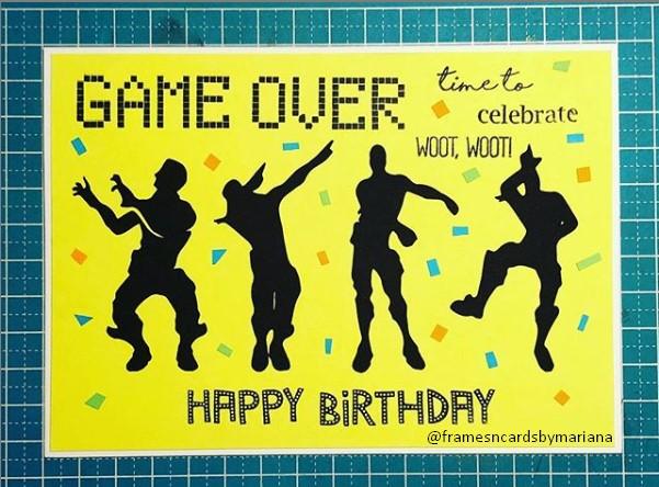 Party themed Birthday Card Ideas for boys