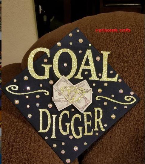 Black Funny Graduation Cap Ideas