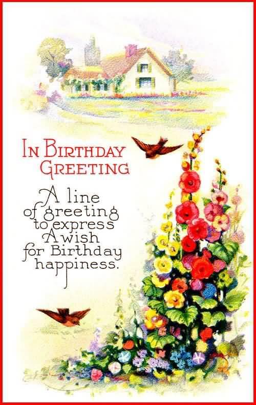 birthday card message ideas