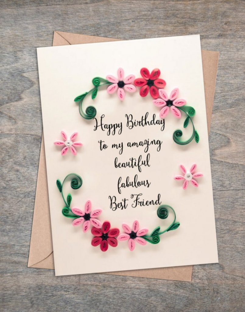 birthday card for friends messages