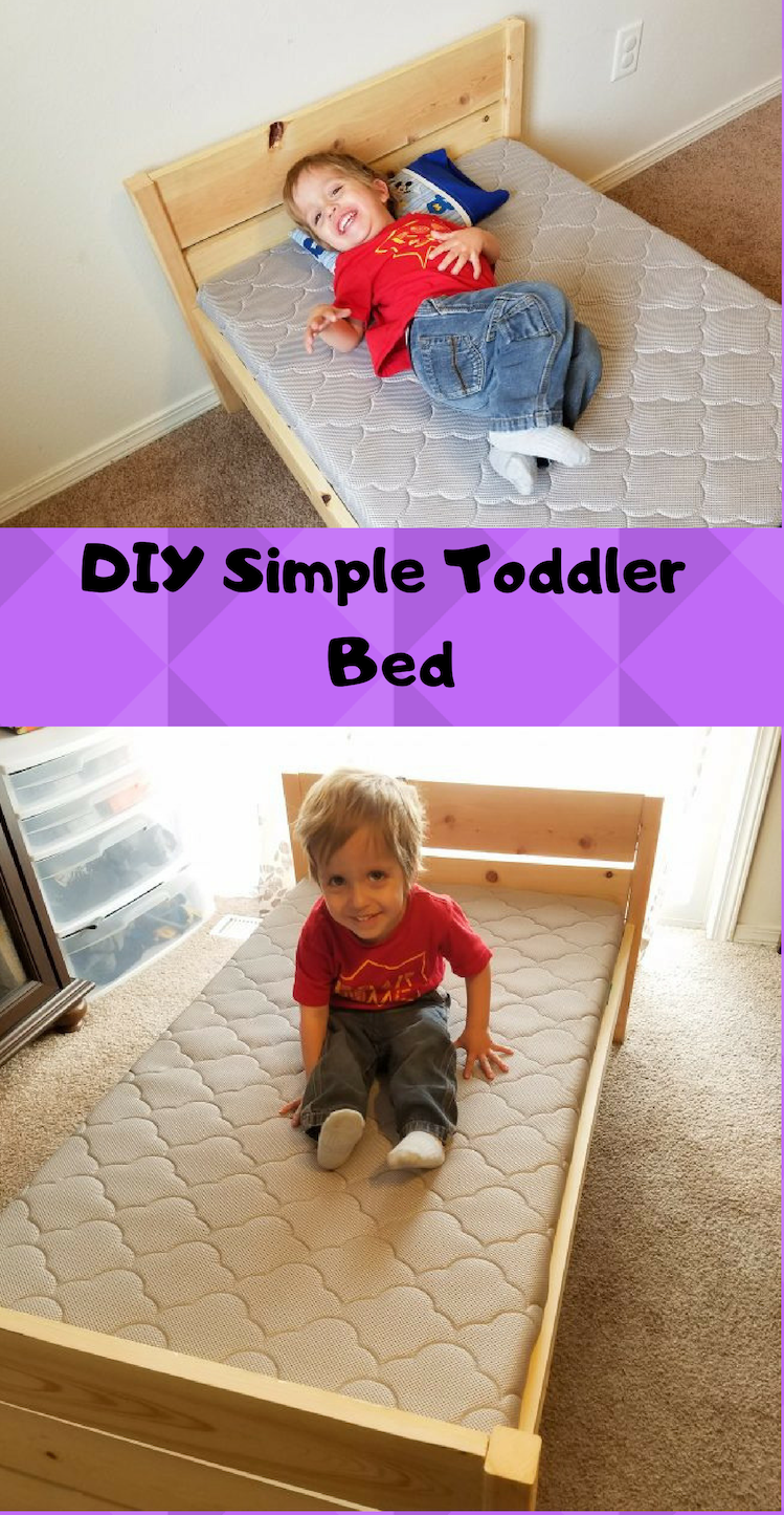 diy toddler bed from crib