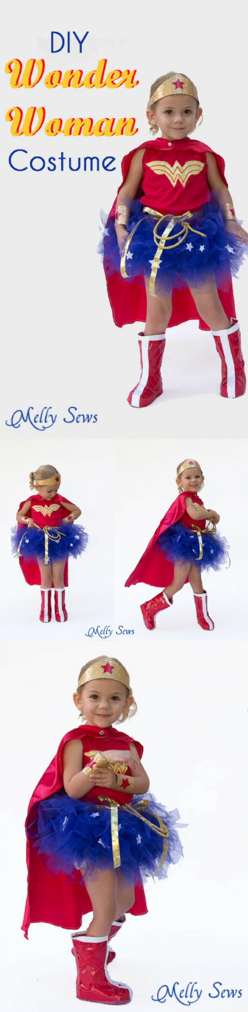 how to make a superhero costume for a girl