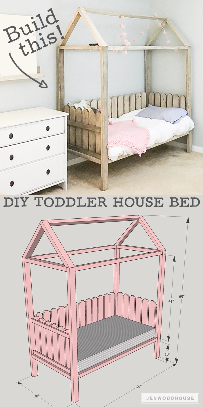 diy toddler bed tent