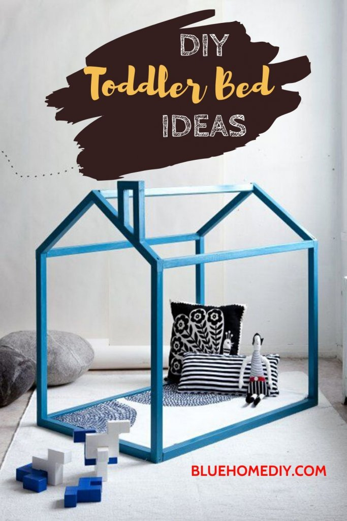 2020 Best DIY Toddler Bed Ideas