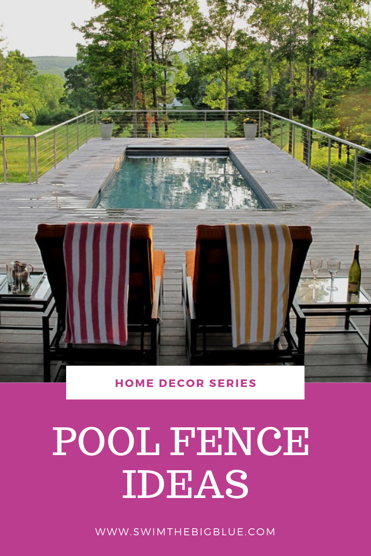 Stylish Pool Fence ideas (With Material Options Guide)
