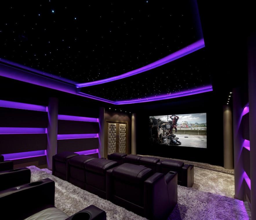 media room color ideas