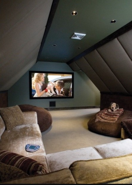 home theater room layout