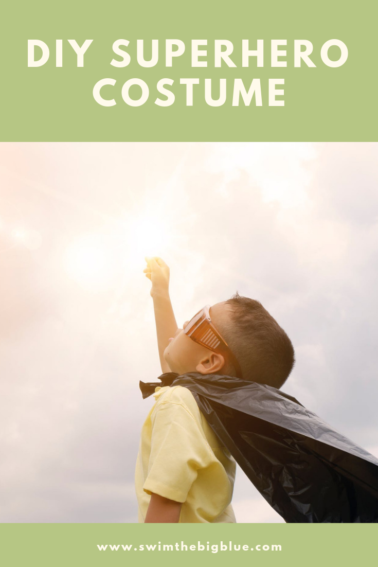 Simple and Easy DIY Superhero Costume