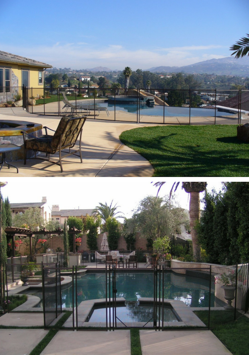 pool safety fences