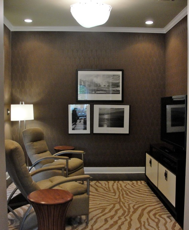 Photo By Rabekkah Davies Interiors Design A Simple Media Room