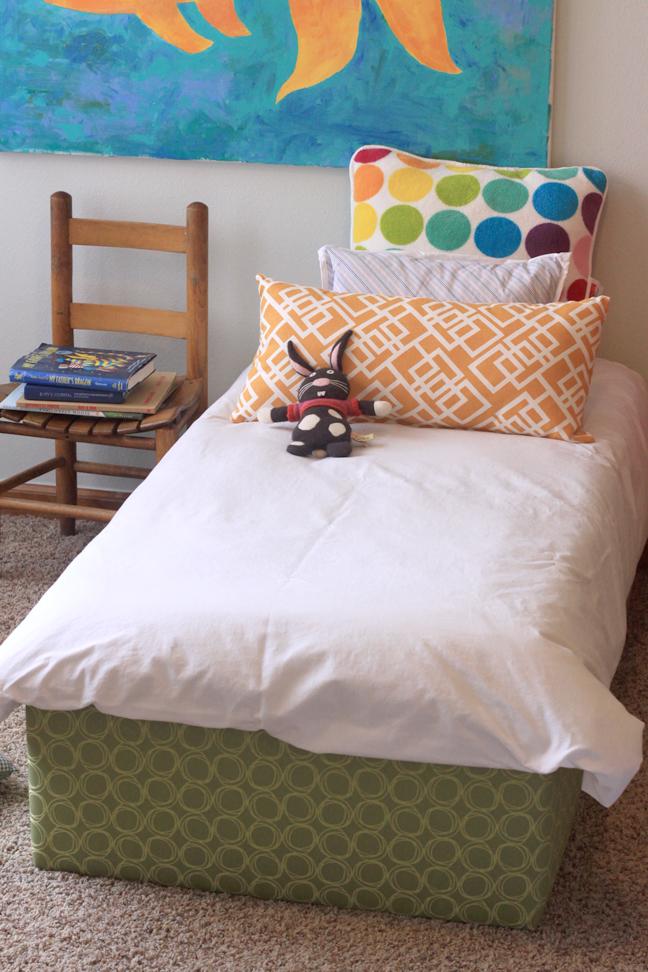 diy toddler platform bed
