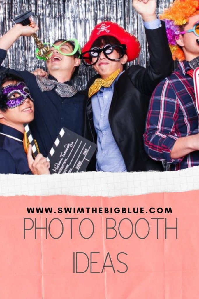 Photo Booth Ideas (DIY, Wedding, Christmas, Halloween, Birthday)