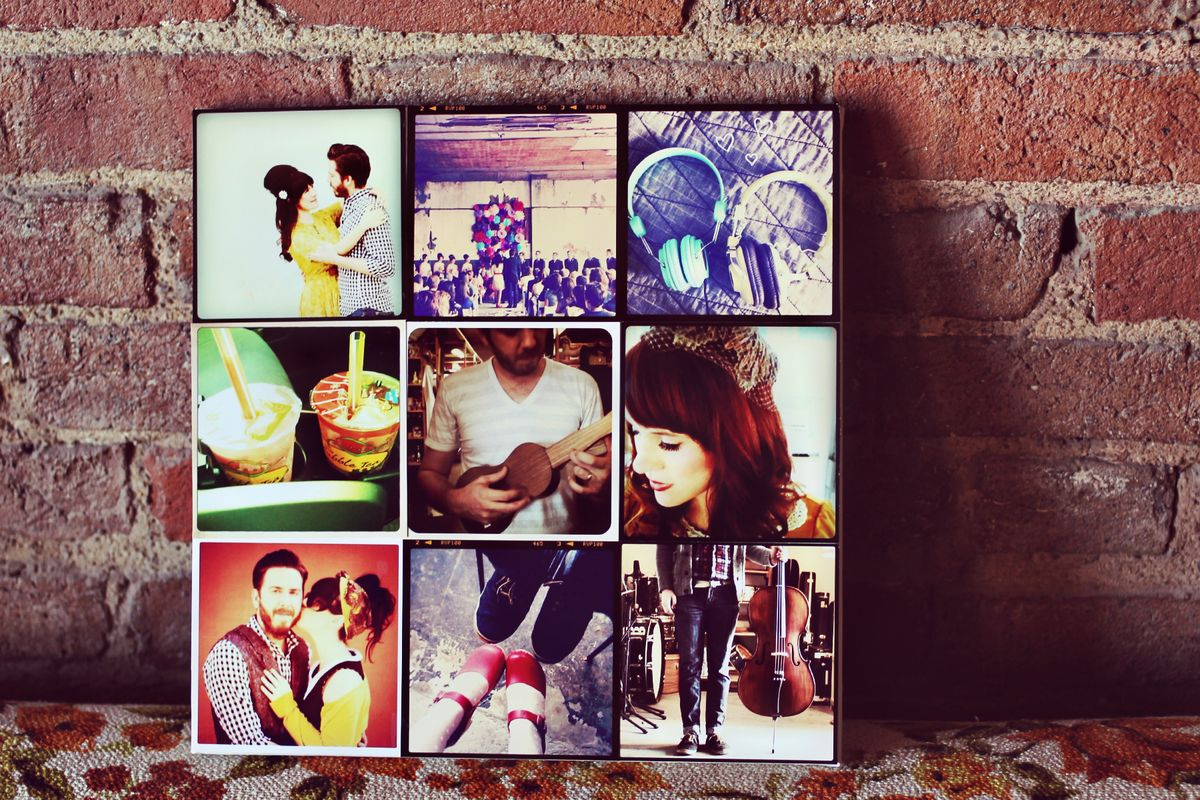 photo collage ideas for gifts