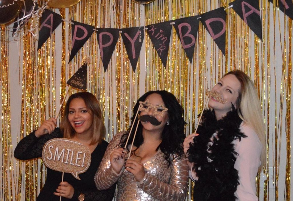 photo booth ideas for birthday party