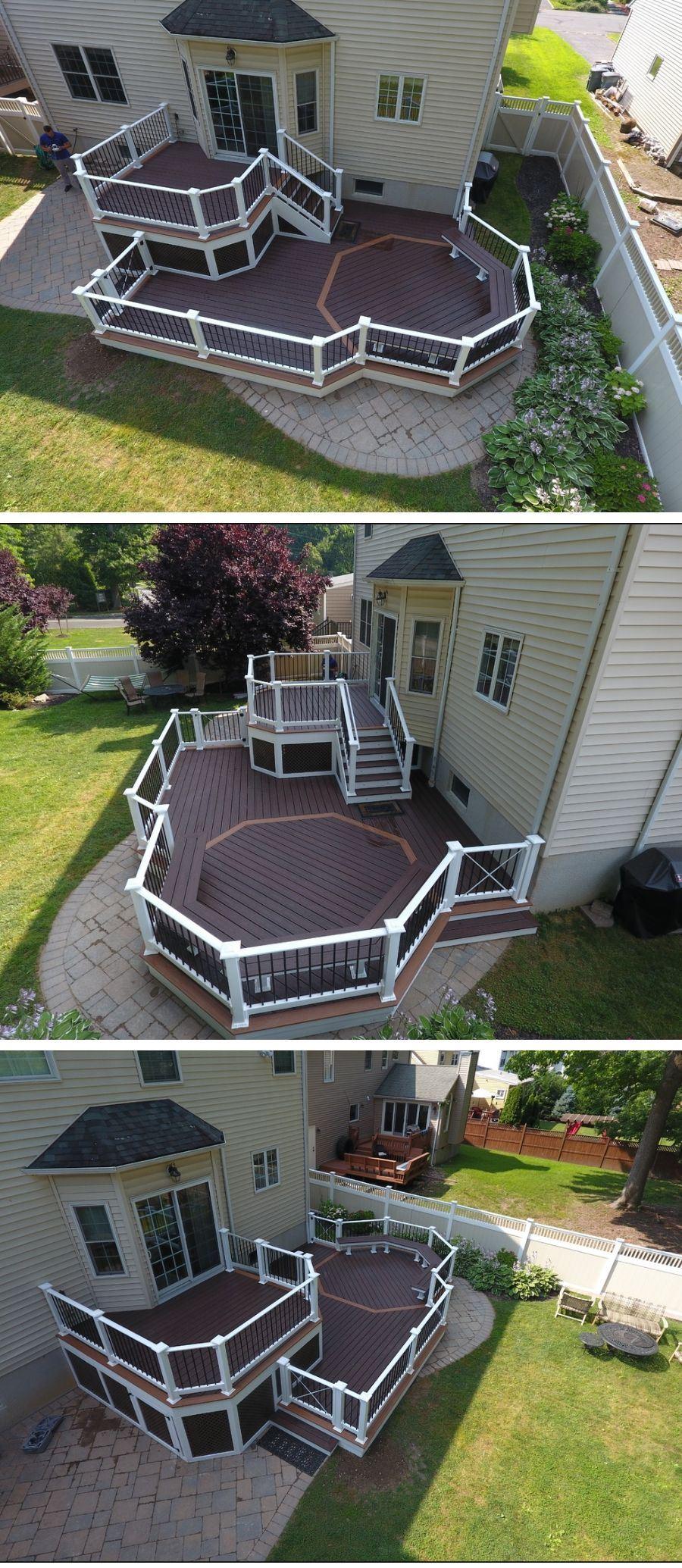 metal deck handrail