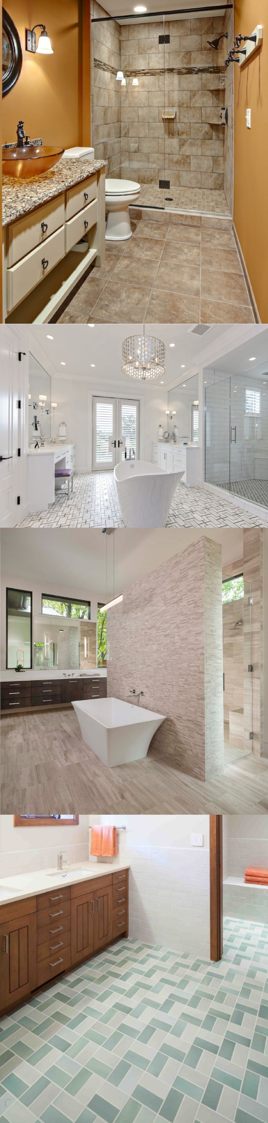 pictures of master bathrooms