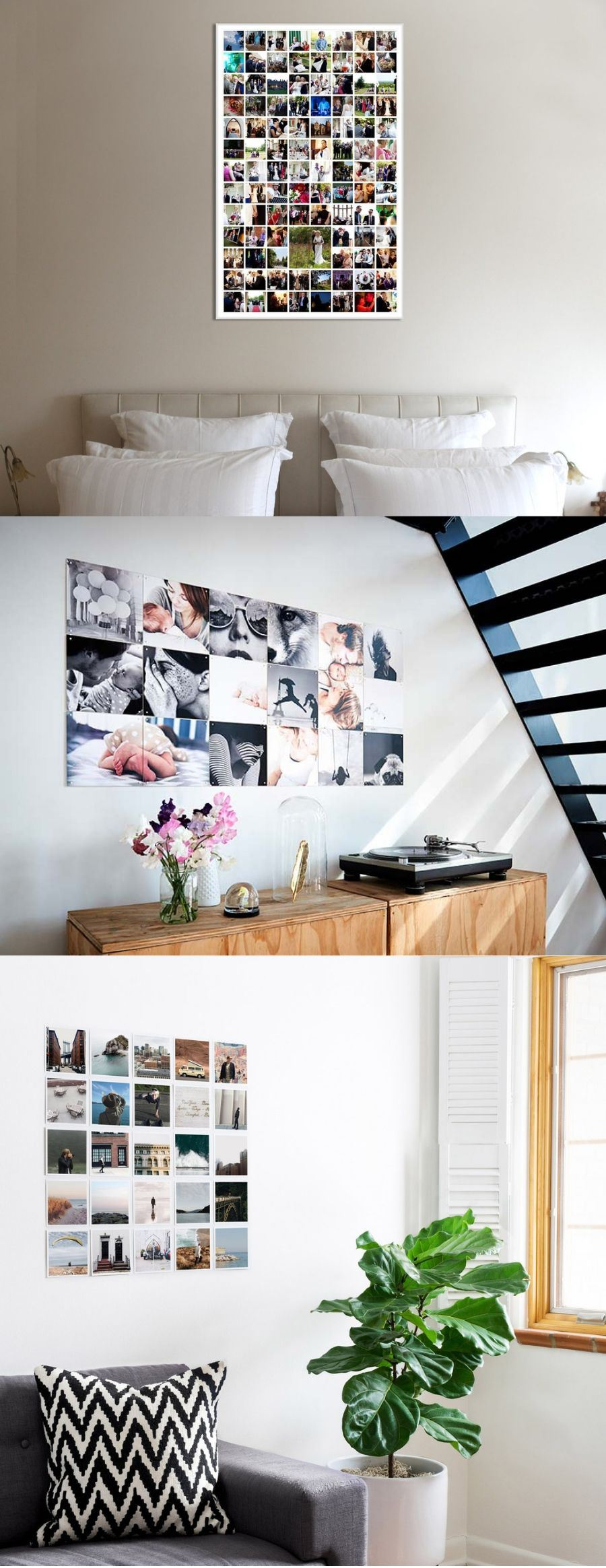 photo collage ideas for wall