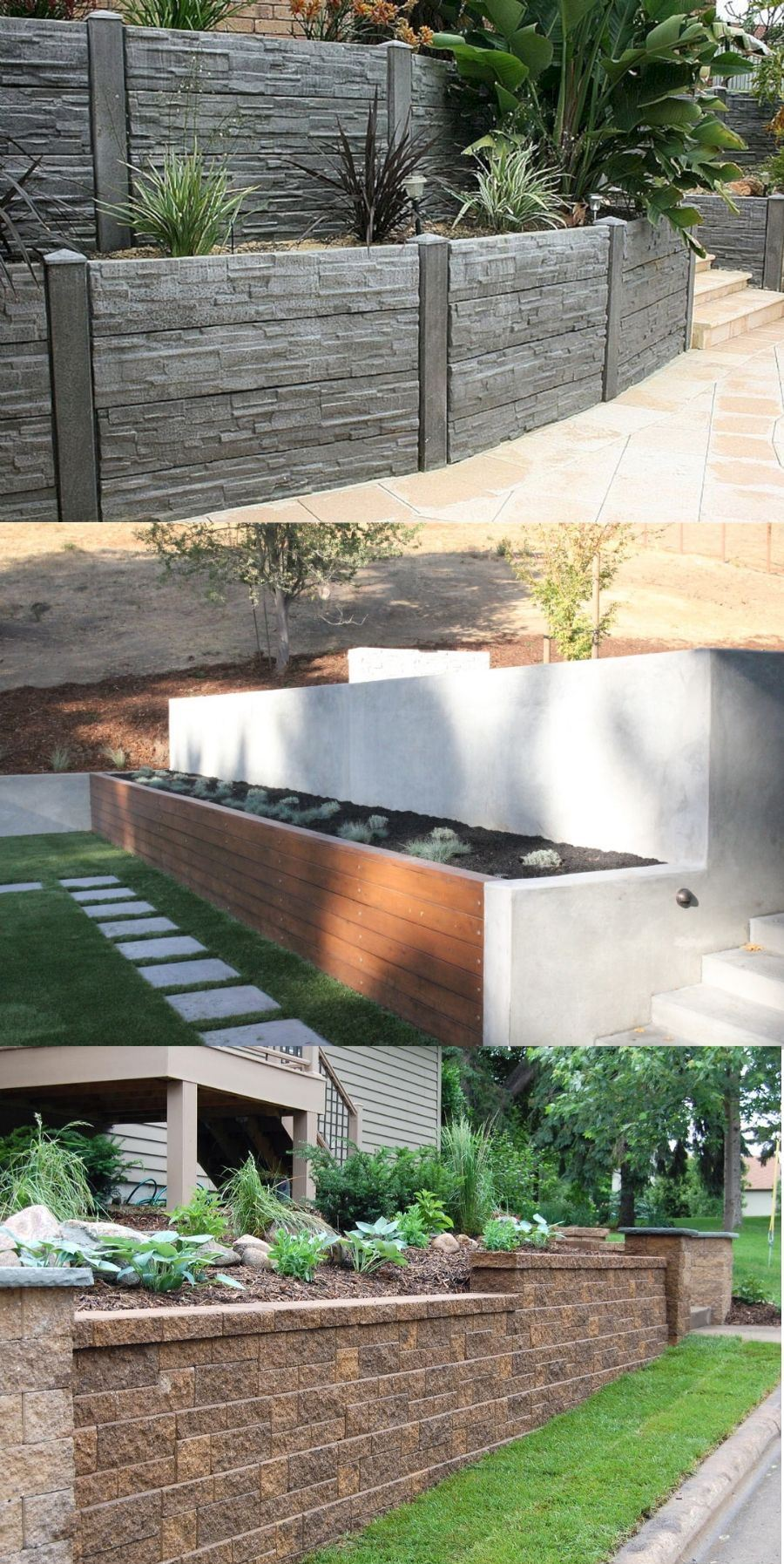 best wood for retaining wall