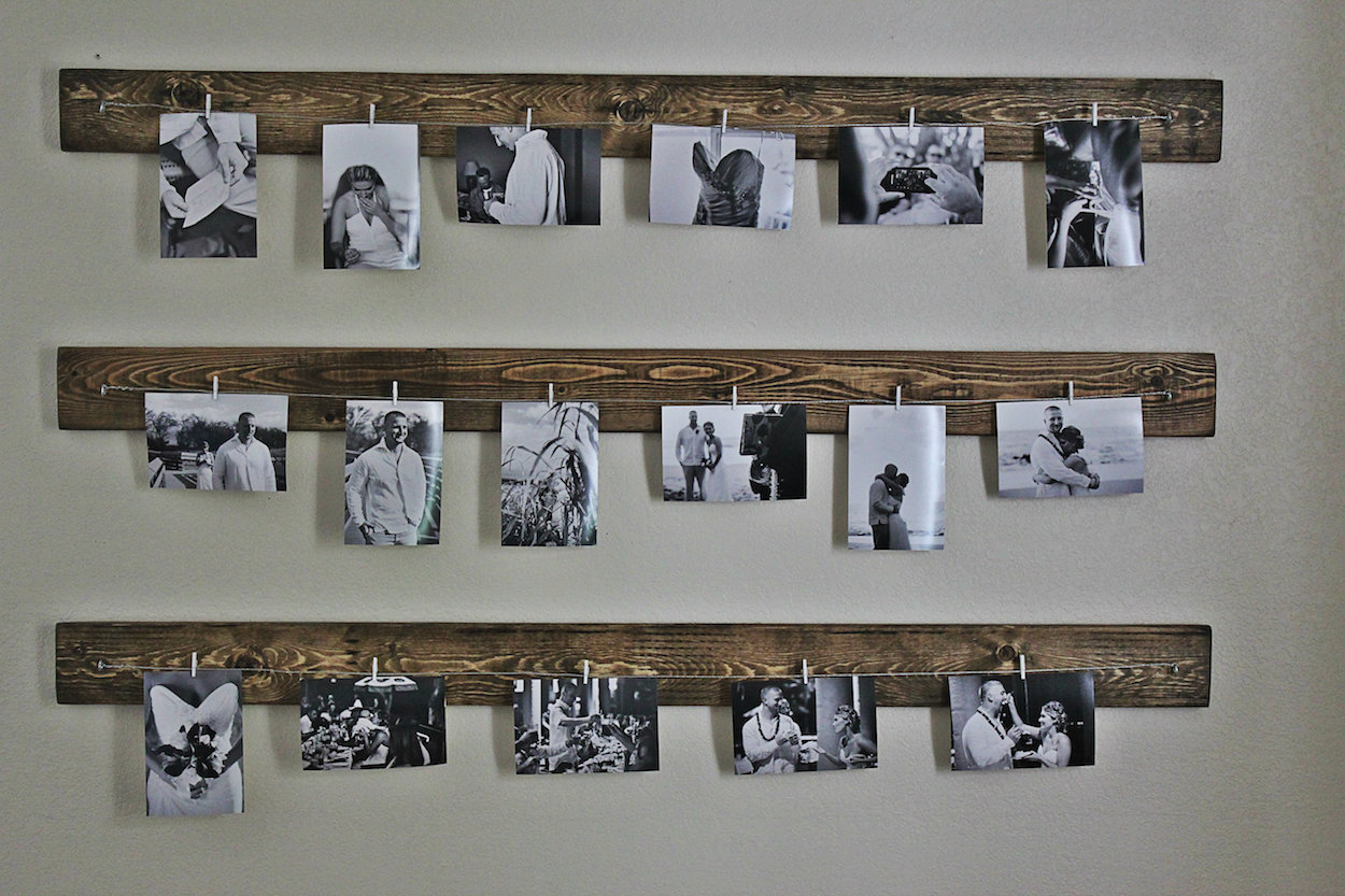 photo collage ideas for bedroom wall