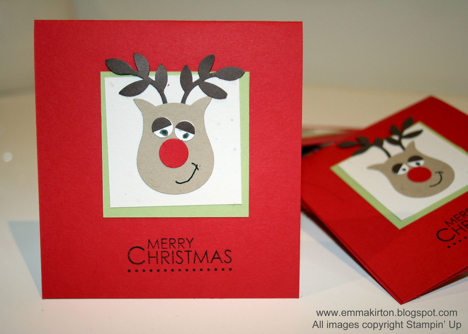 how to make christmas cards at home