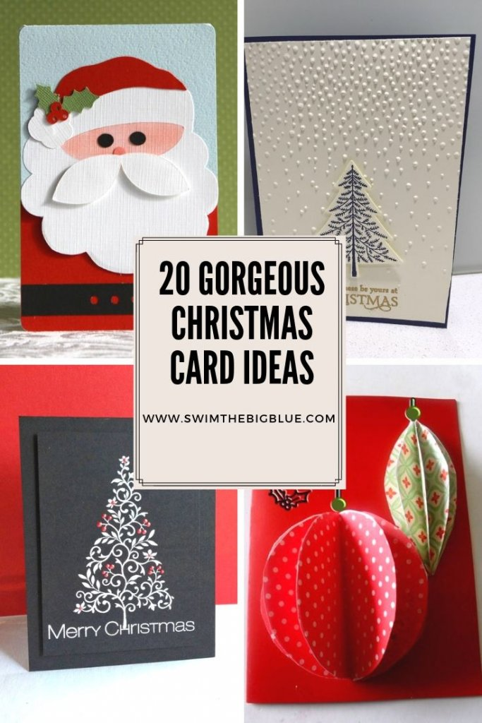 Easy Christmas Cards Designs.20 Most Popular And Thoughtful Christmas Card Ideas Swimthebigblue