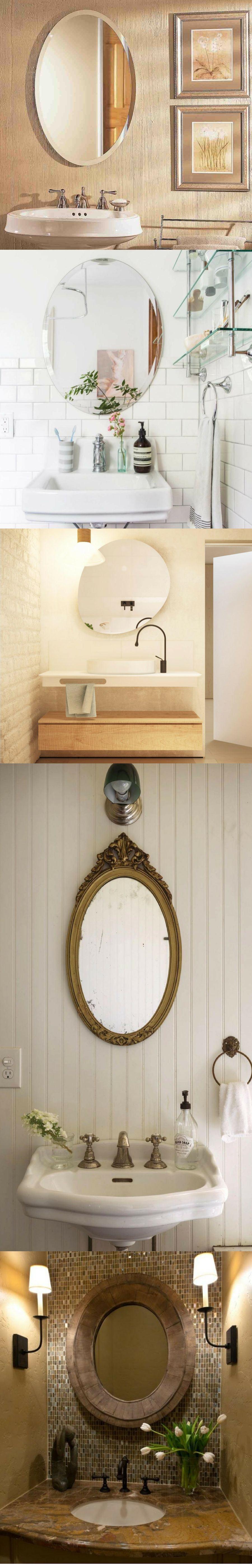 contemporary vanity mirrors for bathroom