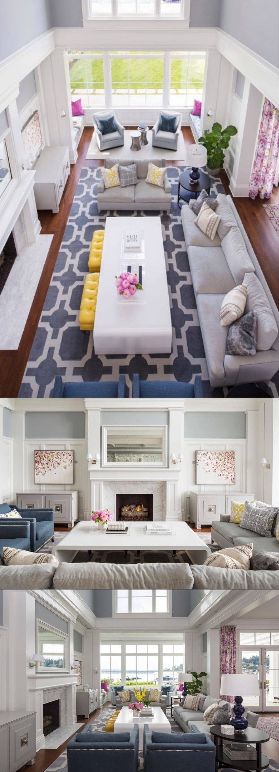 how to arrange a small living room