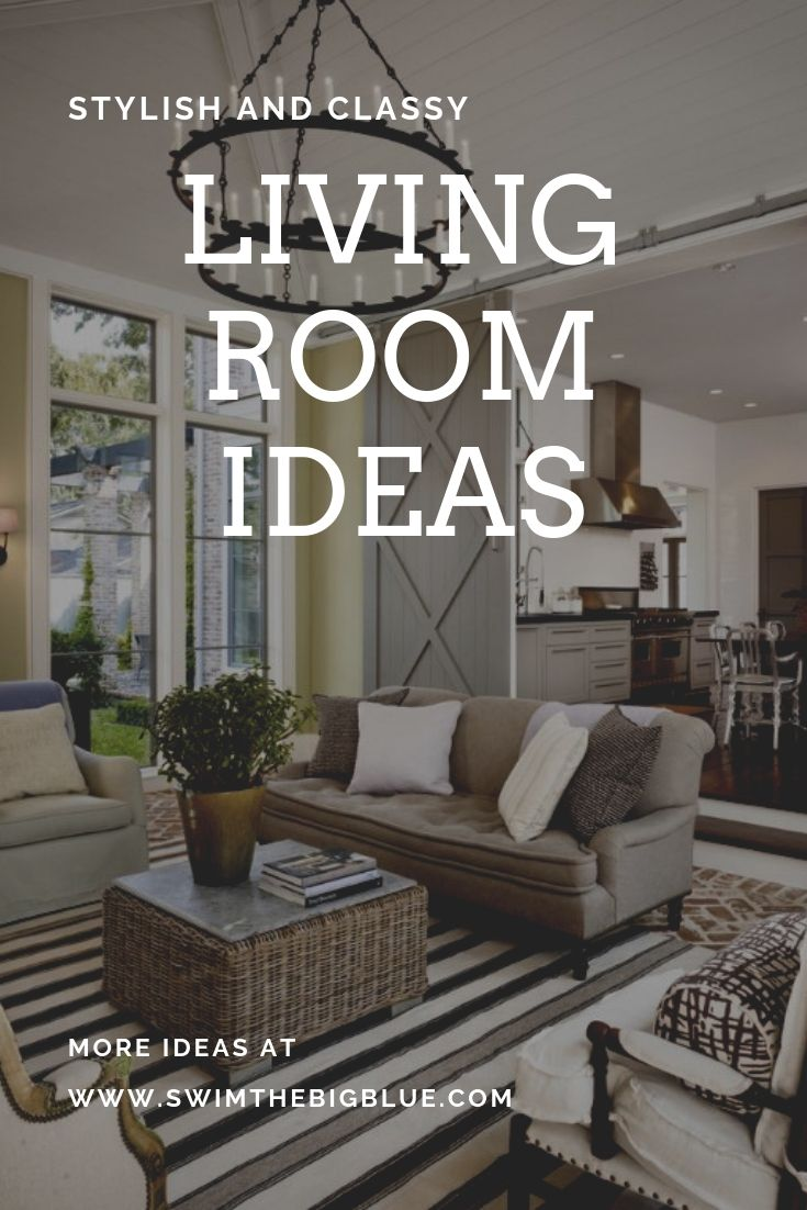 40 Stunning Living Room Ideas (Small, Modern, Farmhouse, Rustic, Mediterranean)