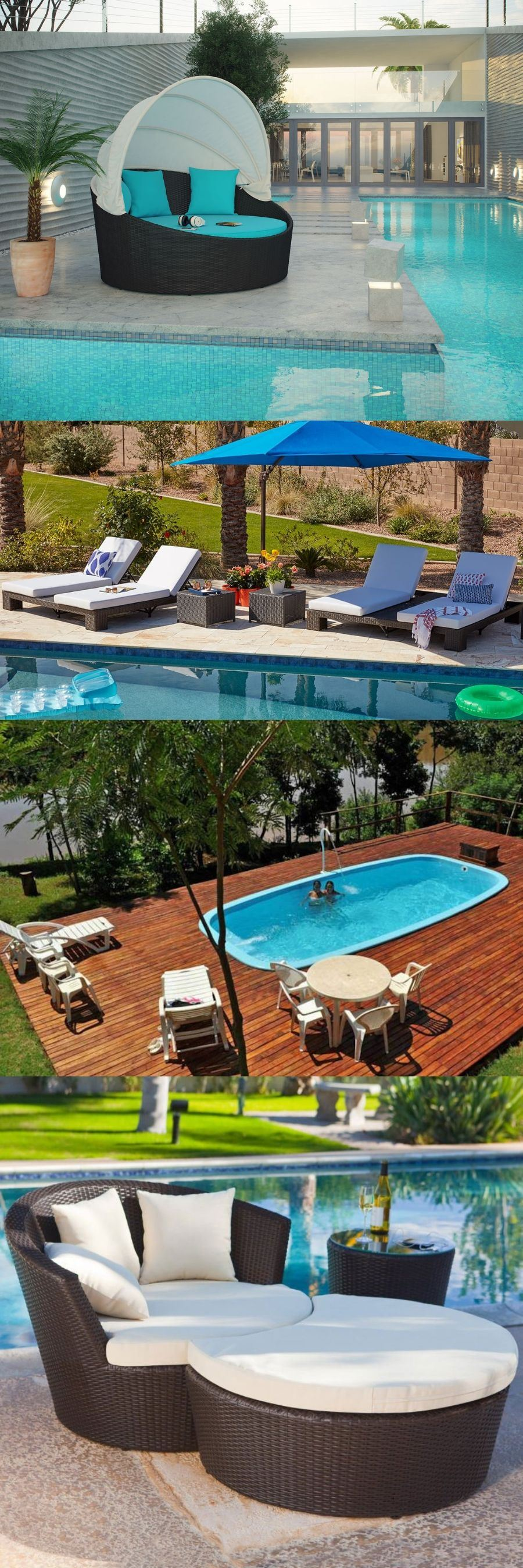 decorating an above ground pool