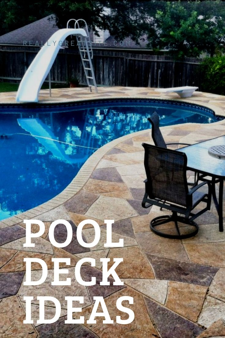 15 Above-Ground and In-Ground Pool Deck Ideas