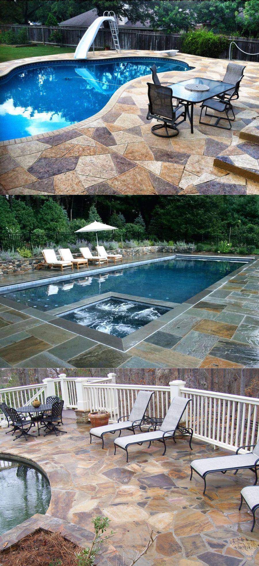 diy above ground pool deck