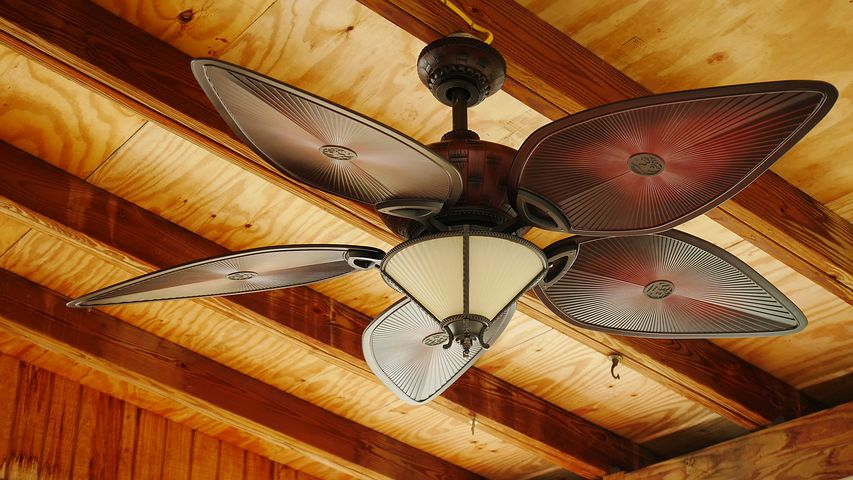 How to Hang a Ceiling Fan Outdoors
