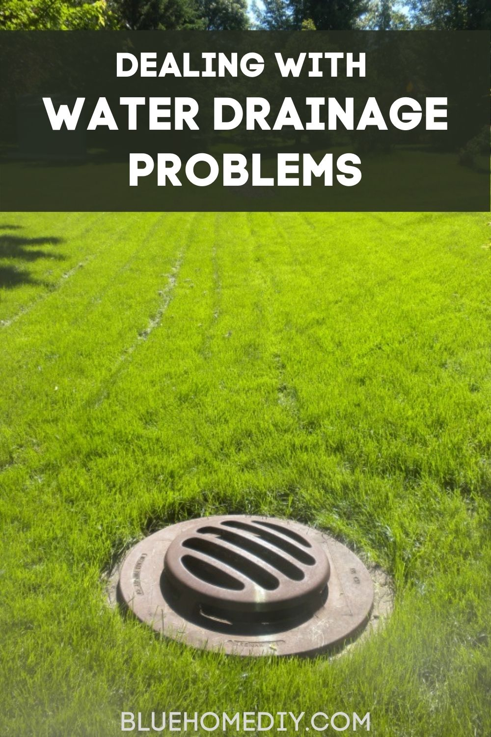 How to Deal with Water Drainage Problems in Your Property